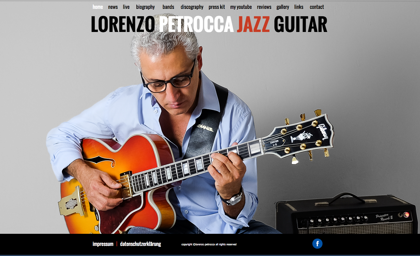 website lorenzo petrocca