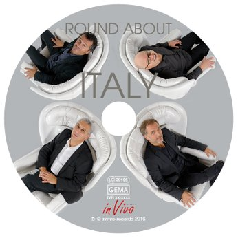 cover design round about italy